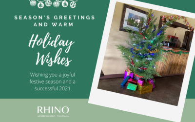 Happy Holidays from Rhino Lodge